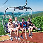Výlet kprameni Labe lanovkou zRokytnice nad Jizerou