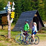 Výlet kprameni Labe na kole zRokytnice nad Jizerou
